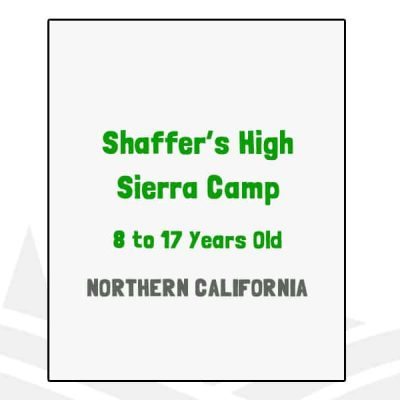 Shaffer's High Sierra Camp - CA