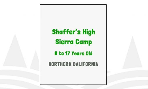 Shaffer's High Sierra Camp - CA