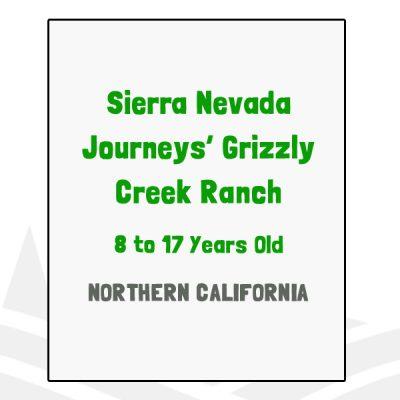 Sierra Nevada Journeys Grizzly Creek Ranch - CA