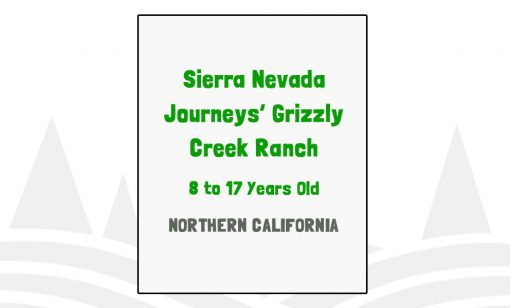 Sierra Nevada Journeys Grizzly Creek Ranch - CA