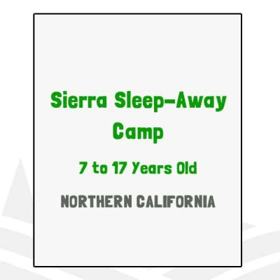Sierra Sleep-Away Camp - CA