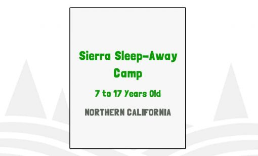 Sierra Sleep-Away Camp - CA