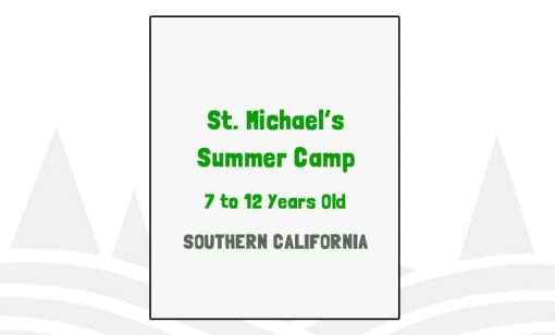 St Michael's Summer Camp - CA