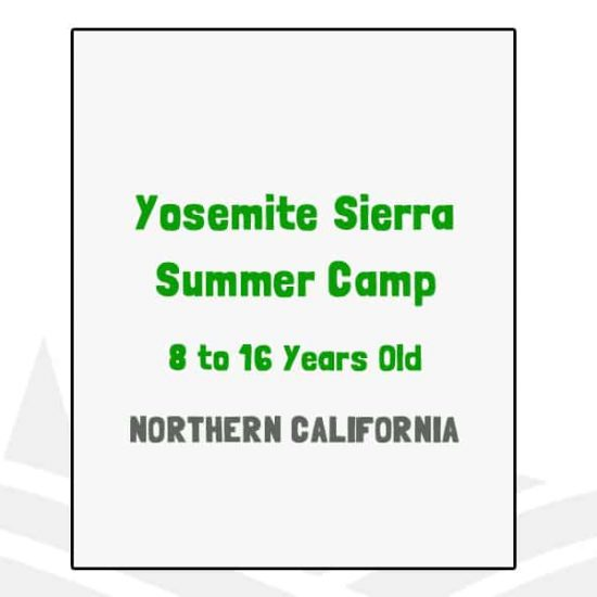 Yosemite Sierra Summer Camp - CA