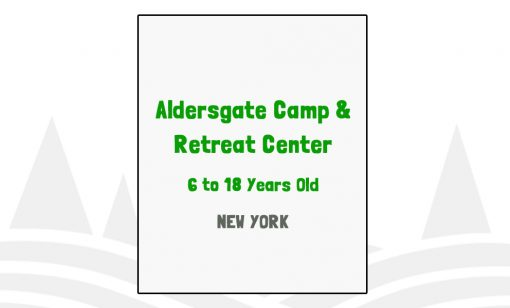 Aldersgate Camp & Retreat Center - NY