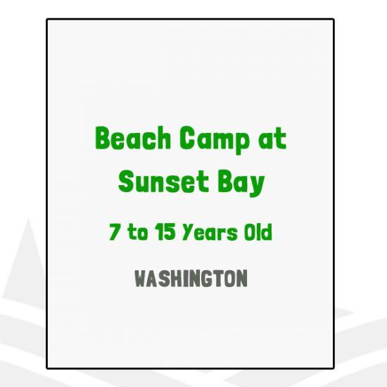 Beach Camp at Sunset Bay - WA