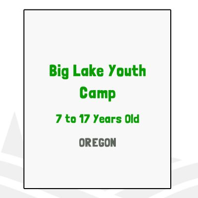 Big Lake Youth Camp - OR