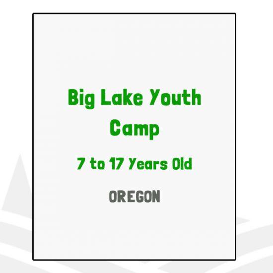 Big Lake Youth Camp - OR