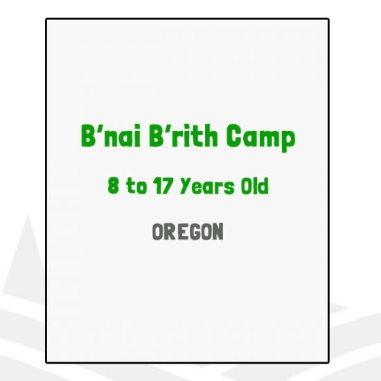 B'nai B'rith Camp - OR