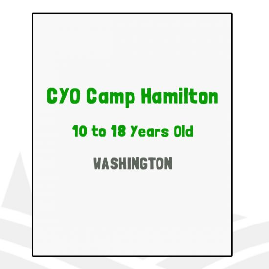 CYO Camp Hamilton - WA