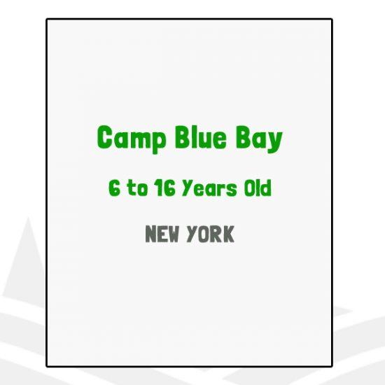 Camp Blue Bay - NY