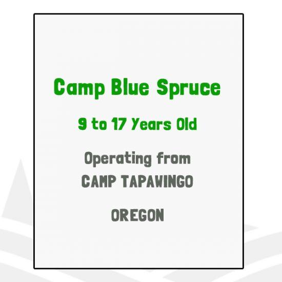 Camp Blue Spruce - OR