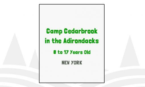 Camp Cedarbrook in the Adirondacks - NY