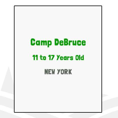 Camp DeBruce - NY