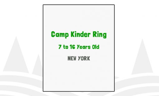 Camp Kinder Ring - NY