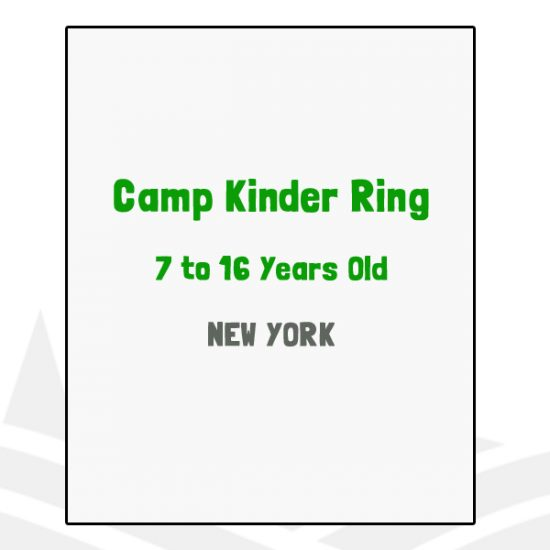 Camp Kinder Ring - NY