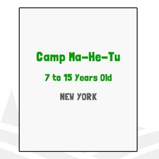 Camp Ma-He-Tu - NY