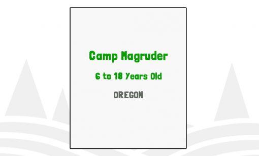 Camp Magruder - OR