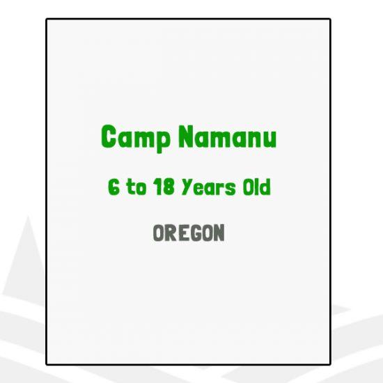 Camp Namanu - OR