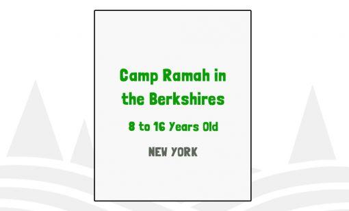 Camp Ramah in the Berkshires - NY