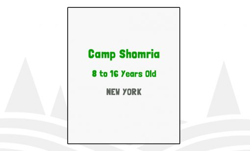 Camp Shomria - NY