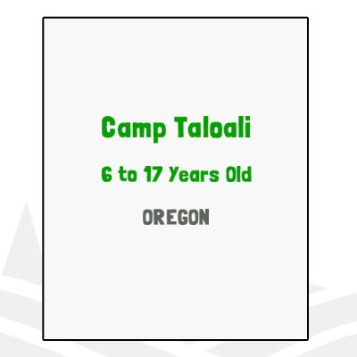 Camp Taloali - OR