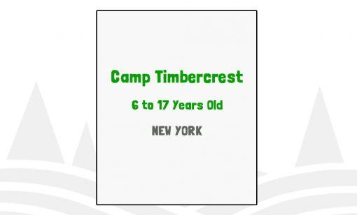 Camp Timbercrest - NY