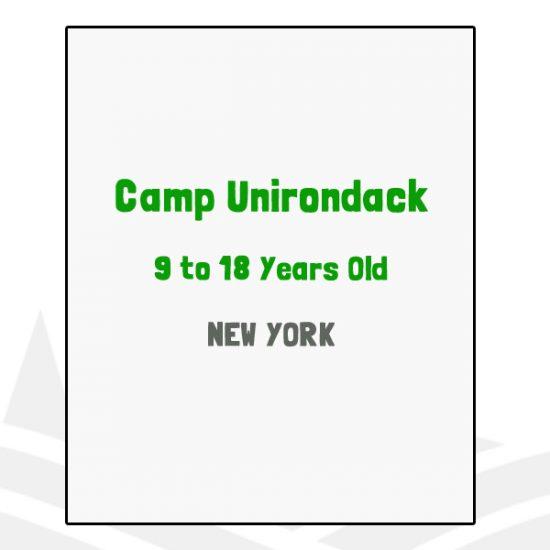 Camp Unirondack - NY