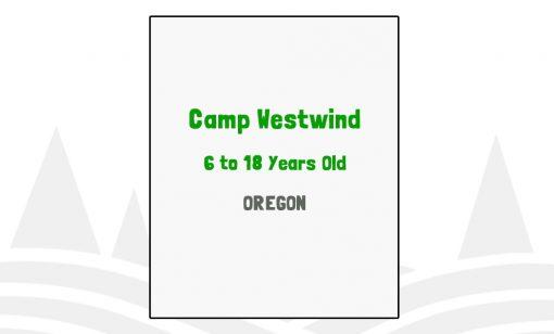 Camp Westwind - OR