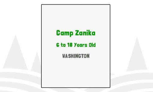Camp Zanika - WA