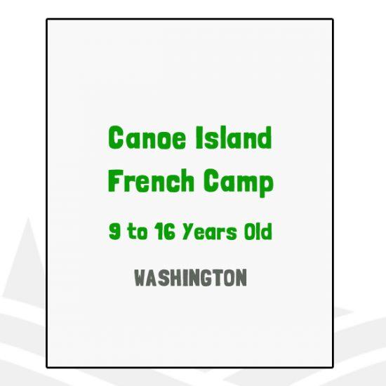 Canoe Island French Camp - WA