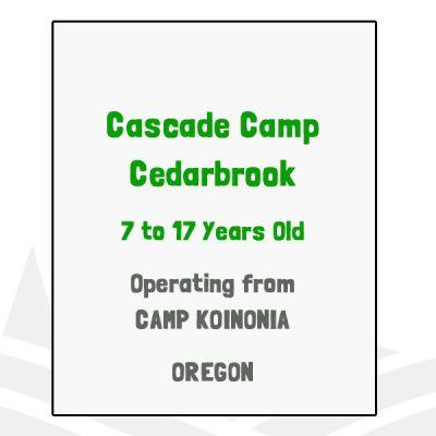 Cascade Camp Cedarbrook - WA