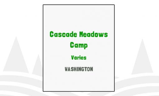 Cascade Meadows Camp - WA