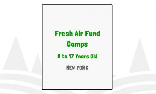 Fresh Air Fund Camps - NY