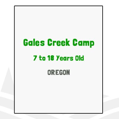Gales Creek Camp - OR