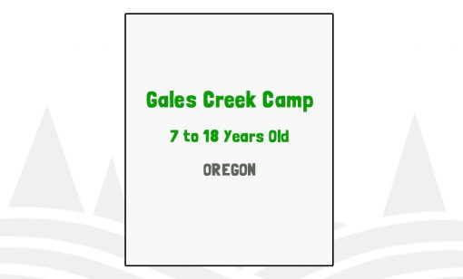 Gales Creek Camp - OR