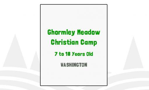 Ghormley Meadow Christian Camp - WA