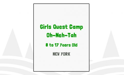Girls Quest Camp Oh-Neh-Tah - NY