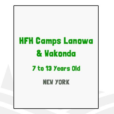 HFH Camps Lanowa & Wakonda - NY