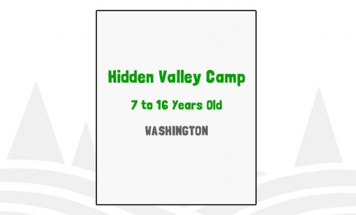 Hidden Valley Camp - WA