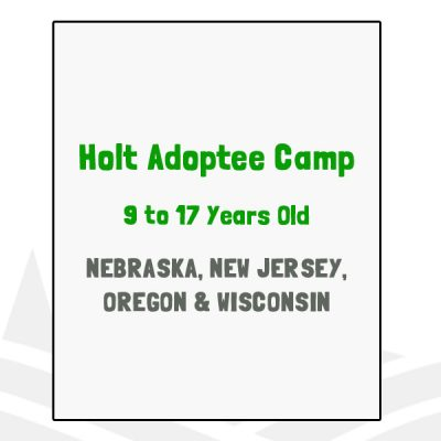 Holt Adoptee Camp - NE, NJ, OR, WI