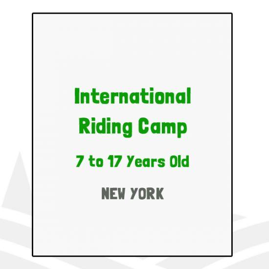 International Riding Camp - NY