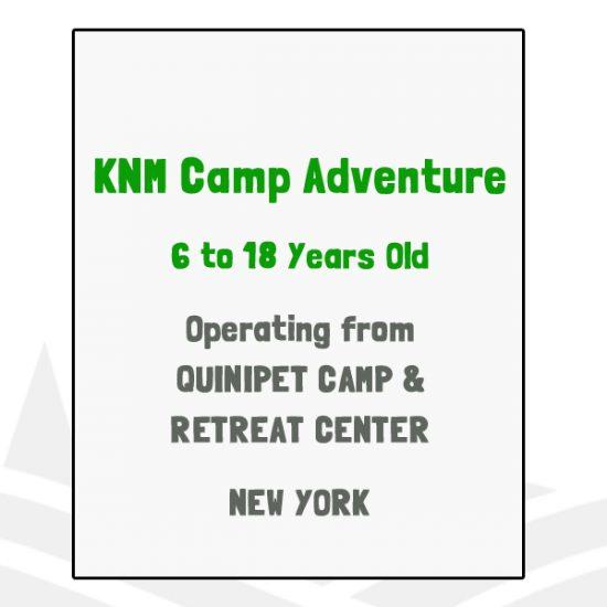 KNM Camp Adventure - NY