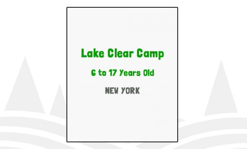 Lake Clear Camp - NY