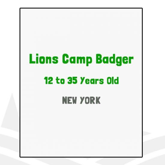 Lions Camp Badger - NY