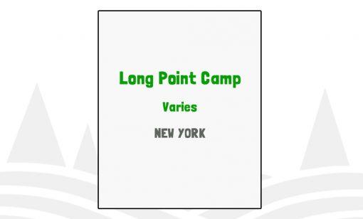 Long Point Camp - NY