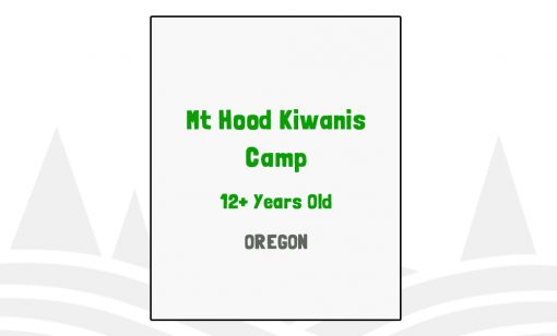Mt Hood Kiwanis Camp - OR