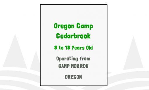 Oregon Camp Cedarbrook - OR