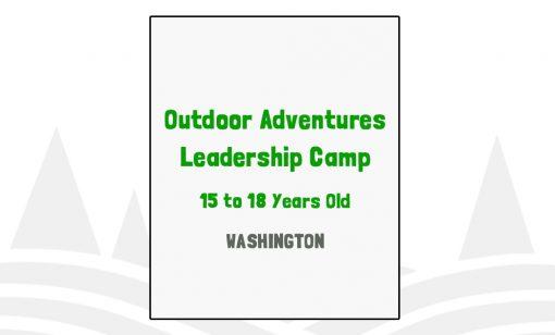 Outdoor Adventures Leadership Camp - WA