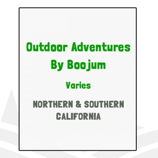 Outdoor Adventures by Boojum - CA